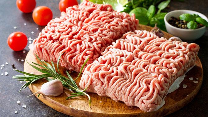 darált marhahús a fogyáshoz