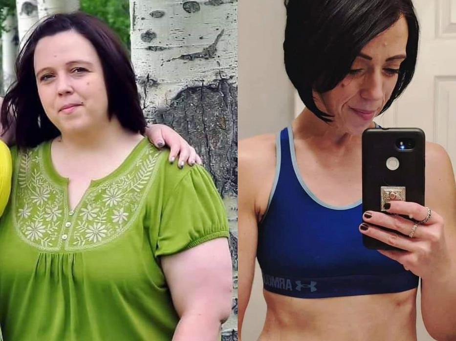 Eszméletlen fogyás történet: 45 kilót adott le a 34 éves anyuka