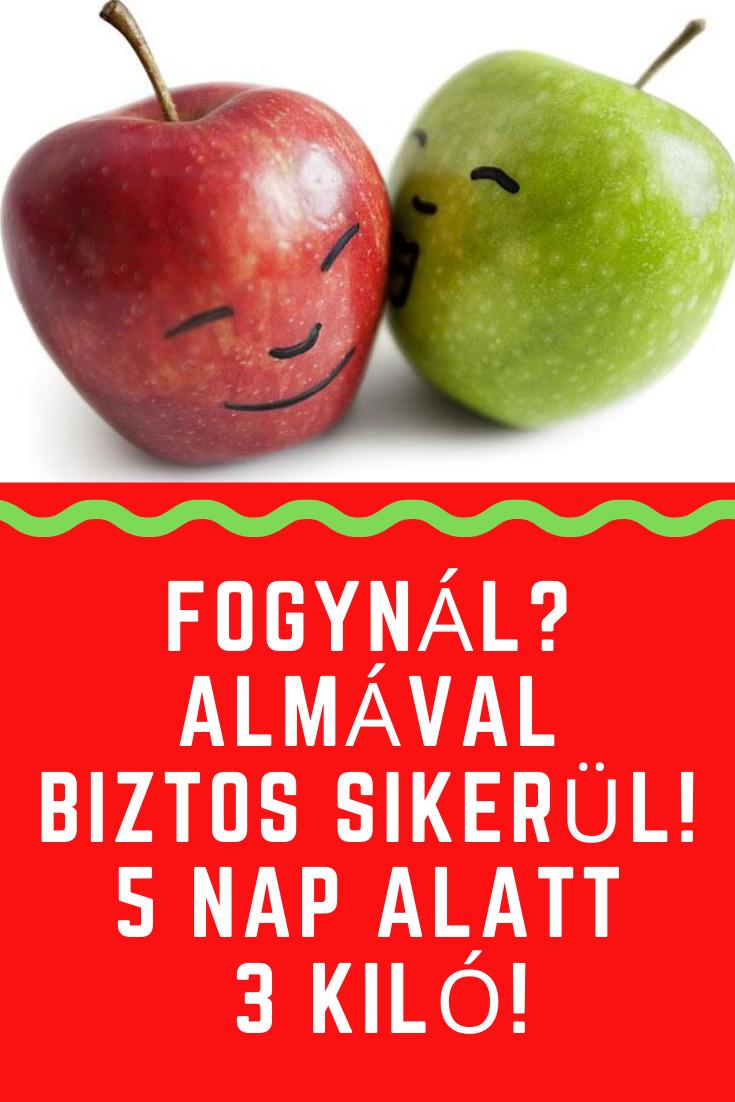 Fogynál? Almával biztos sikerül! 5 nap alatt 3 kiló! in | Diétás tanácsok, Fogyás, Egészség