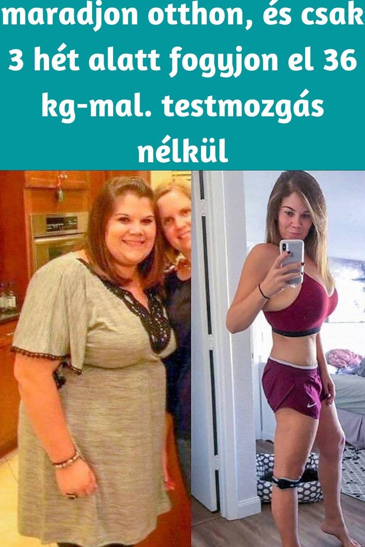 elveszíti sok súlyát 2 hét alatt