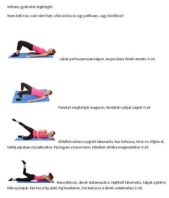 A legnehezebben formálható területek a csípő és a combok. Ezzel a 6 gyakorlattal formálhatod őket.