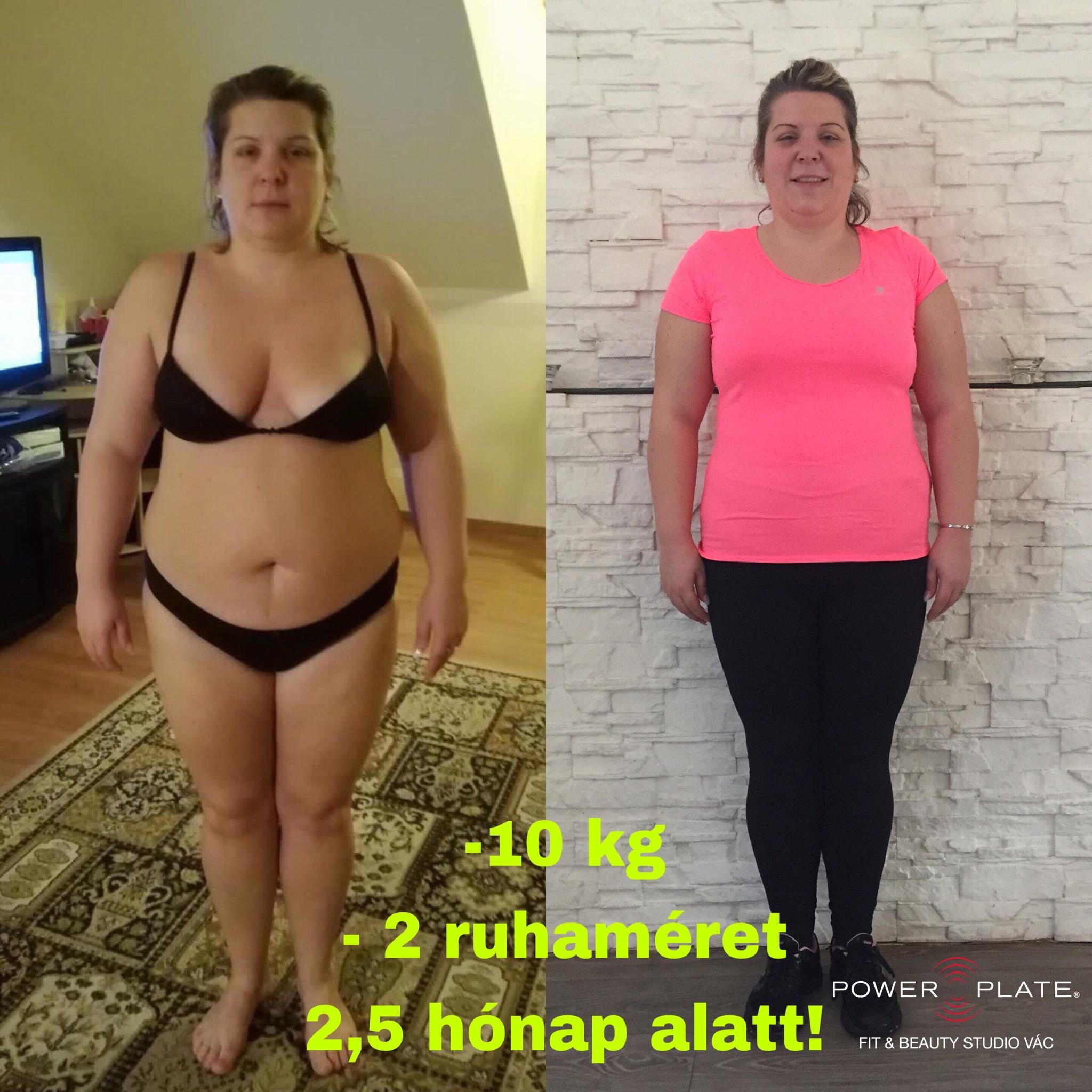 30 kg súlycsökkenés egy hónap alatt