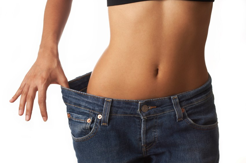 fogyás vékony nő