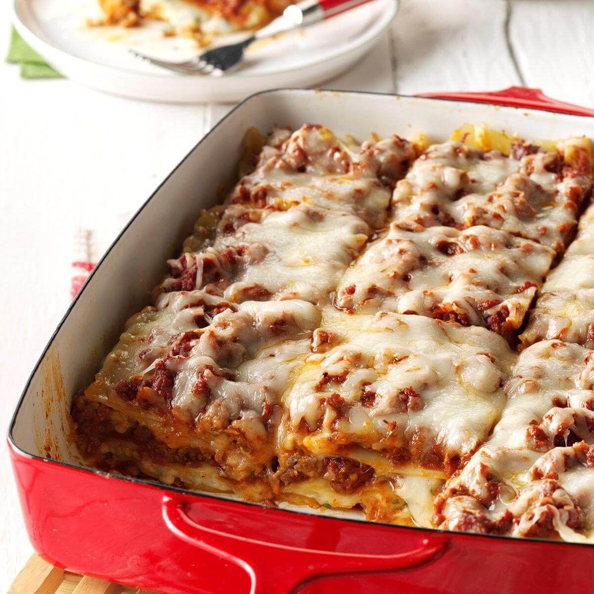 Vadas ízesítésű lasagne, gluténmentes és tojásmentes házi tésztával (Paleo hozzávalókkal is!)